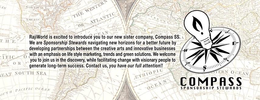 Compass banner