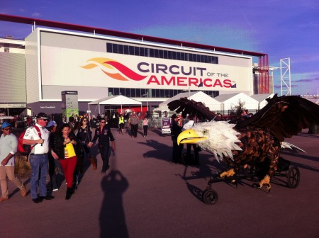 Eagle-demands-attention-at-COTA-Grandstand-2
