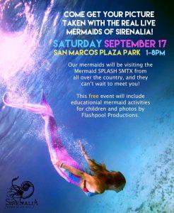 Mermaids in San Marcos